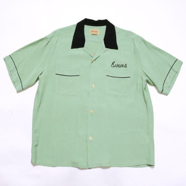 STYLE EYES(スタイルアイズ) レーヨンボーリングシャツ