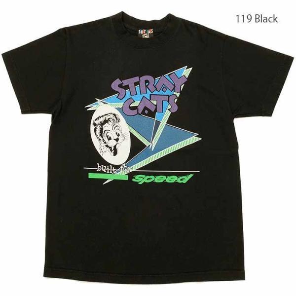 STRAY CATS×STYLE EYES (ストレイキャッツ×スタイルアイズ) ロックTシャツ リミテッド エディション