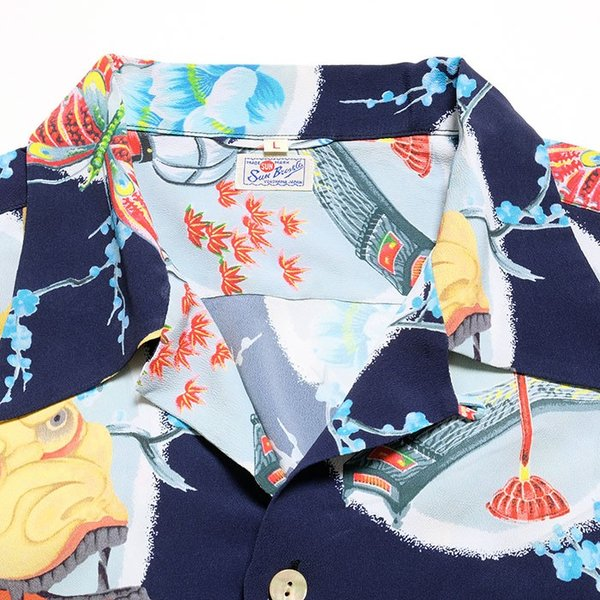 "SUN SURF  (サンサーフ) スペシャルエディション ""DEMON ON JAPAN BEAUTY"" SUN BROS & CO  SS38105 hinoya-ameyoko 06"