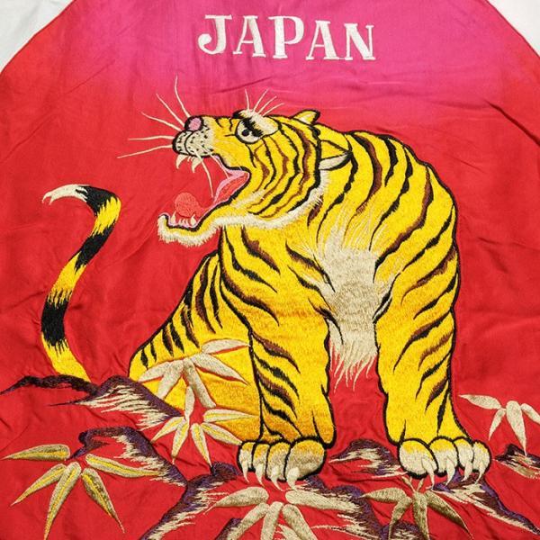 "TAILOR TOYO(テーラー東洋) アセテート スーベニアジャケット エイジングモデル ""ROARING TIGER"" × ""JAPAN MAP""  TT14468 hinoya-ameyoko 10"