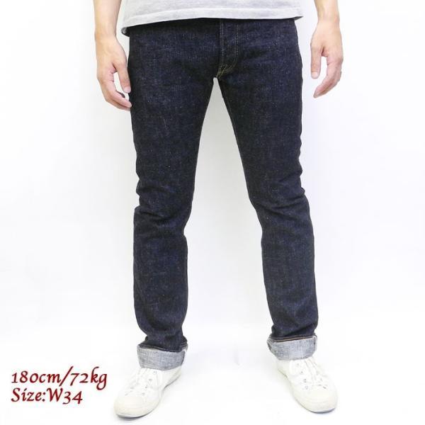 pure blue japan(ピュア ブルー ジャパン) 18oz. Slim Tapered Jeans XX18oz013|hinoya-ameyoko|02