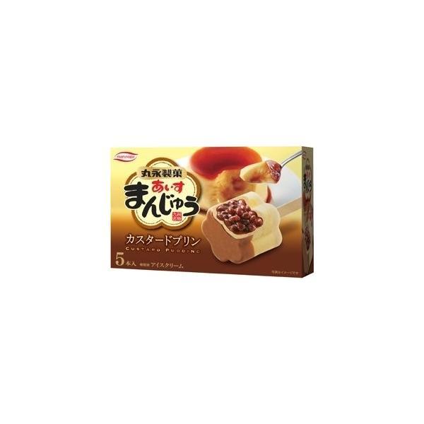 丸永製菓あいすまんじゅうカスタードプリンマルチ6入