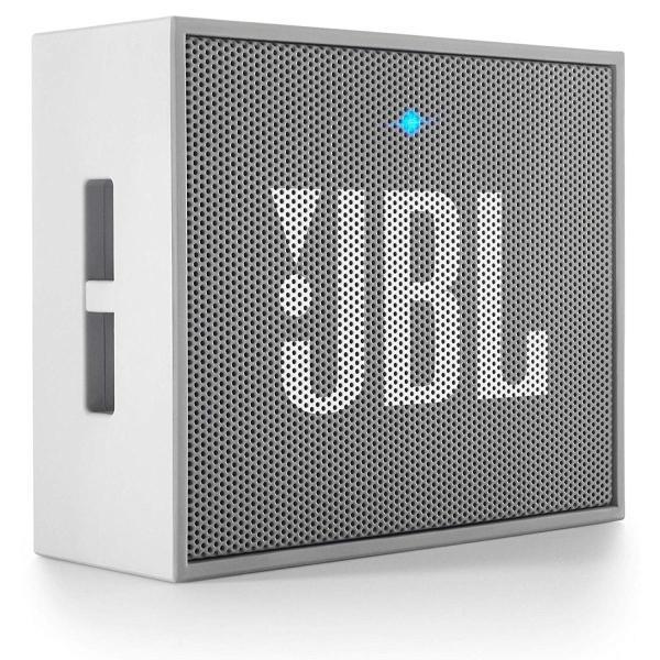 JBL GO ポータブルワイヤレススピーカー Bluetooth対応 グレー JBLGOGRAYの画像