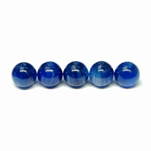 天然石 パワーストーン g3-683F  6mm 3A カイヤナイト 1粒売り 鑑別済 本物保証 送料無料有 ブラジル産
