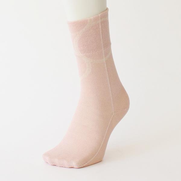 % PERCENT 靴下(春夏:ピンク・ベージュ)抗菌・防臭・吸水・通気性(男女兼用)|hint|02