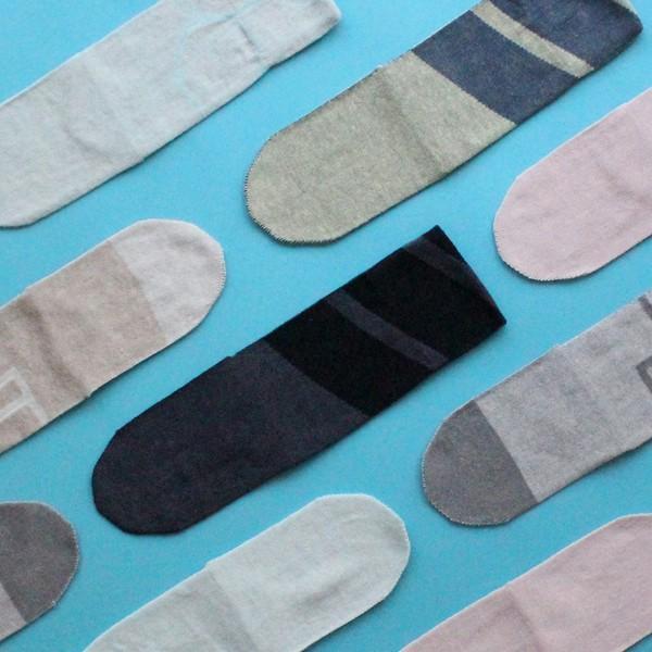 % PERCENT 靴下(春夏:ピンク・ベージュ)抗菌・防臭・吸水・通気性(男女兼用)|hint|05