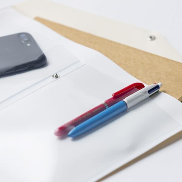 TENT WORKS Mサイズ ドキュメントケース 書類ケース 通帳ケース お薬手帳 ペンケース|hint|02