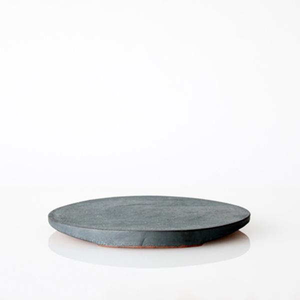TSUKI フラットプレート 190  瓦食器 丸皿 平皿|hint|03