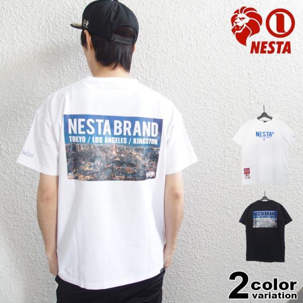ネスタブランド Tシャツ NESTA BRAND メンズ 半袖 ベア 天竺 フォト 大きいサイズ対応 トップス 2020新作