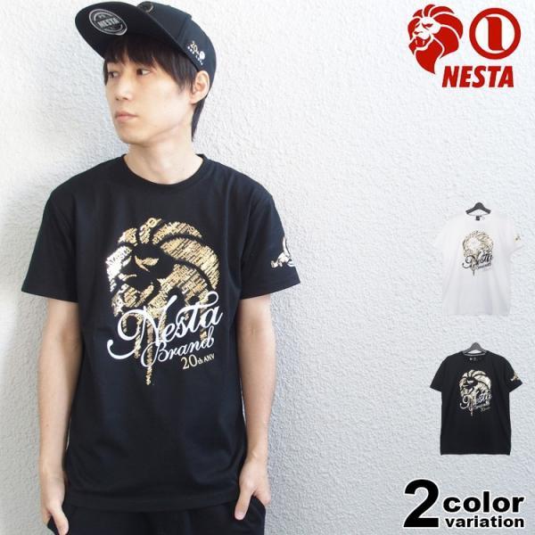 ネスタブランド Tシャツ NESTA BRAND メンズ 半袖 DRY 20th 大きいサイズ対応 トップス 2020新作