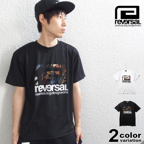 リバーサル Tシャツ reversal 半袖 メンズ ドライ BUTTERFLY BIG MARK DRY TEE|hiphopdope
