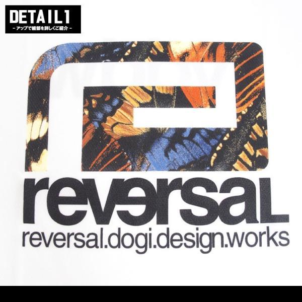 リバーサル Tシャツ reversal 半袖 メンズ ドライ BUTTERFLY BIG MARK DRY TEE|hiphopdope|05