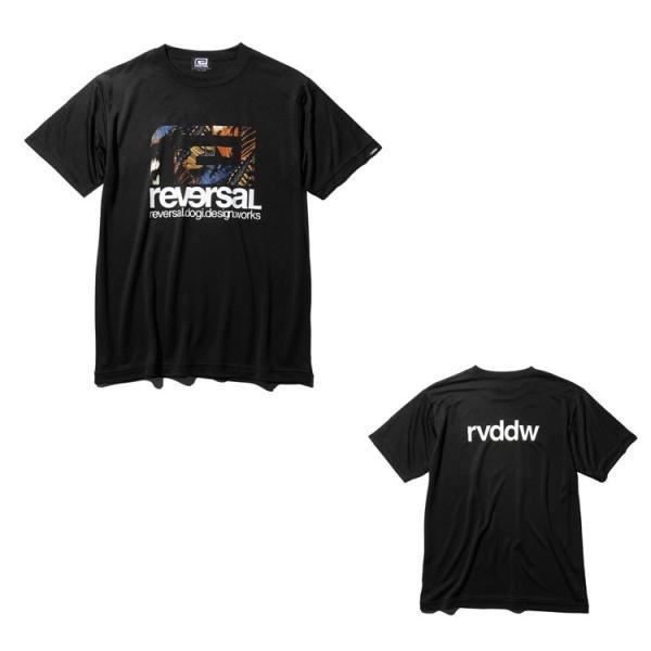 リバーサル Tシャツ reversal 半袖 メンズ ドライ BUTTERFLY BIG MARK DRY TEE|hiphopdope|09