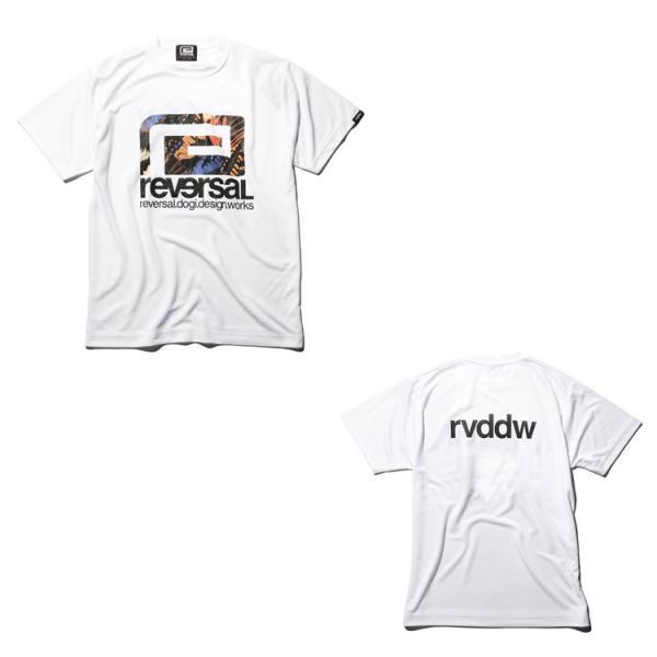 リバーサル Tシャツ reversal 半袖 メンズ ドライ BUTTERFLY BIG MARK DRY TEE|hiphopdope|10