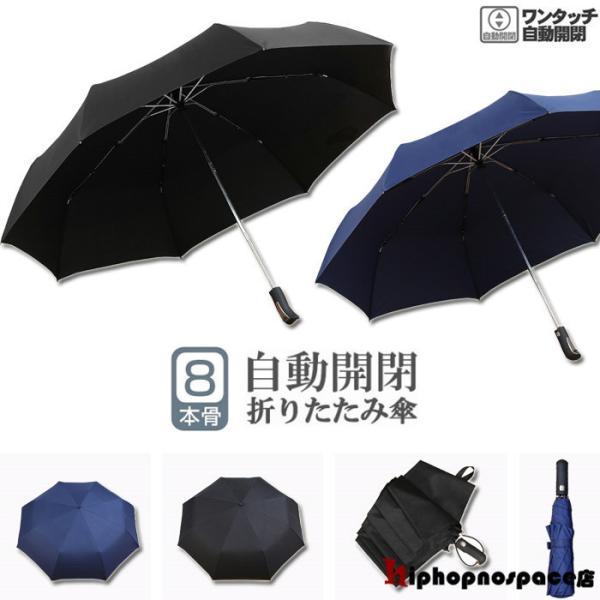 折りたたみ傘晴雨兼用自動開閉シンプルビジネス紳士用通勤撥水折り畳み大きい傘メンズレディース遮光遮熱耐風日傘雨傘無地男女兼用梅雨対