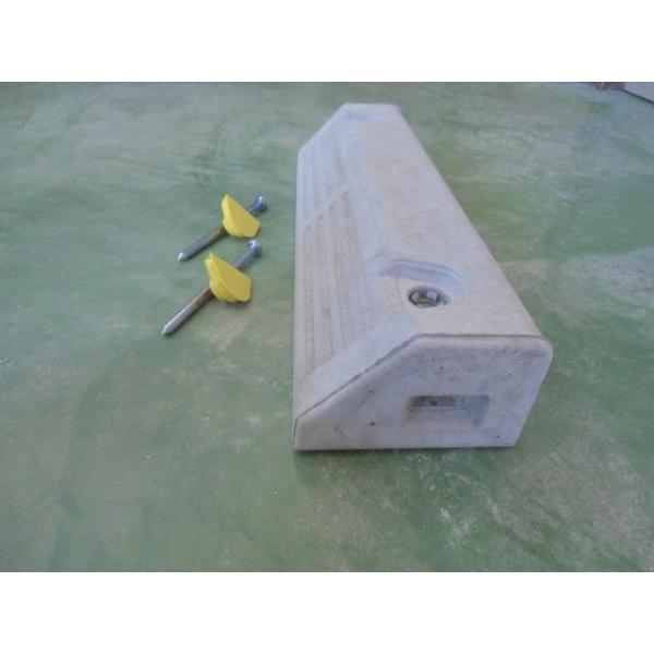 車止めブロック (低車高用)NSP−100B アンカーピン付 |hiranoblock-store|02