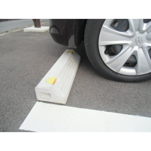 車止めブロック (低車高用)NSP−100B アンカーピン付 |hiranoblock-store|03