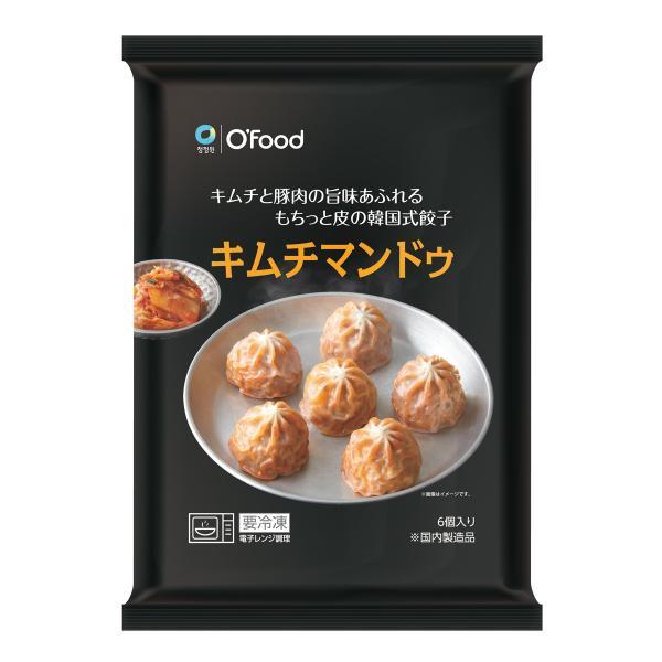 冷凍 チョンガ キムチ餃子 180g (6個入)
