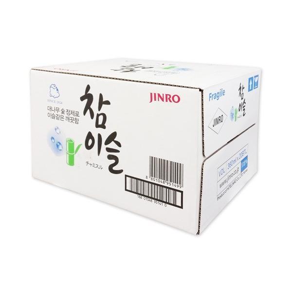 韓国焼酎 チャミスル 17.8℃ 360ml BOX(20本入)[16.9℃のみの取扱いになりました]|hiroba