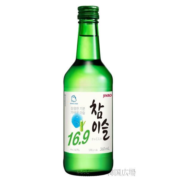 韓国焼酎 チャミスル 16.9℃ 360ml BOX (20本入)|hiroba|02
