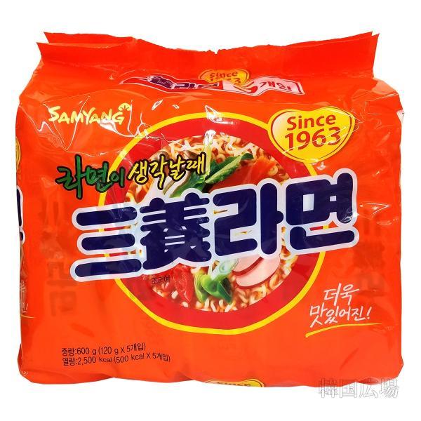 三養 三養ラーメン 120g マルチパック(5個入り)|hiroba
