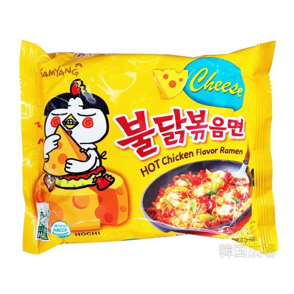 三養 チーズプルタク炒め麺 140g|hiroba