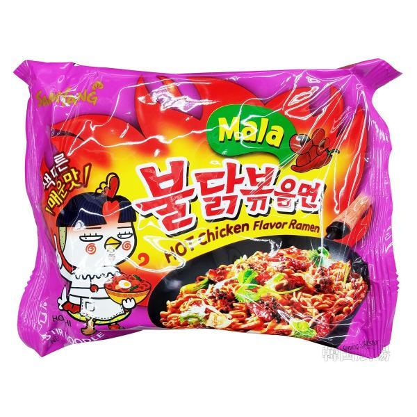 三養 マラプルタク炒め麺 135g マルチパック(5個入)|hiroba|02