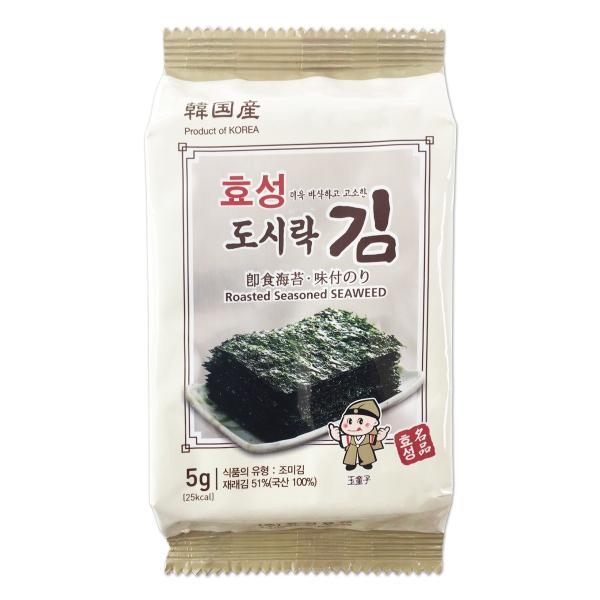 ヒョソン 弁当用海苔 (8切9枚3袋入) BOX (24個入)|hiroba|03