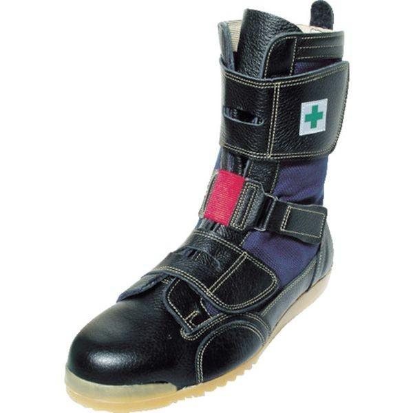 【メーカー在庫あり】 AT207-24.5 AT20724.5 (株)ノサックス ノサックス 高所用安全靴 安芸たび  24.5CM HD