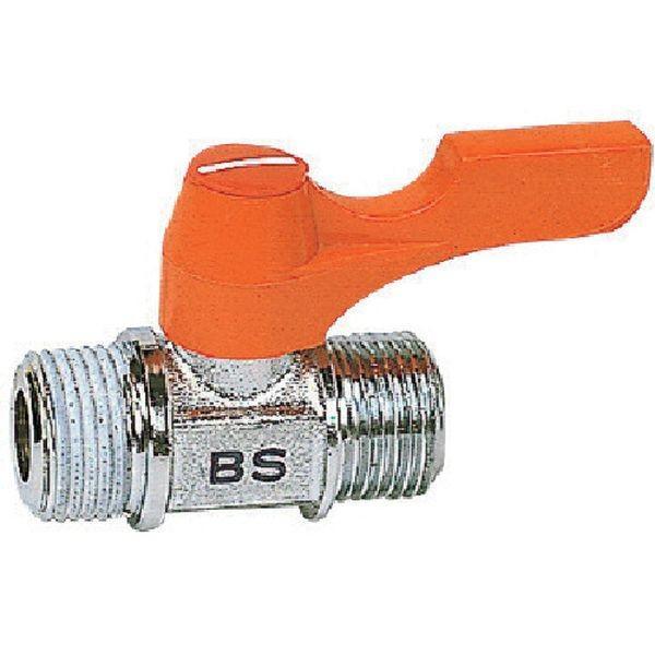 【メーカー在庫あり】 BS-1021 アソー(株) ASOH エースボール 外X外ネジ型 PT1/4XPF1/8 HD