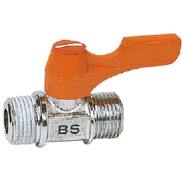 【メーカー在庫あり】 BS-1022 アソー(株) ASOH エースボール 外X外ネジ型 PT1/4XPF1/4 HD