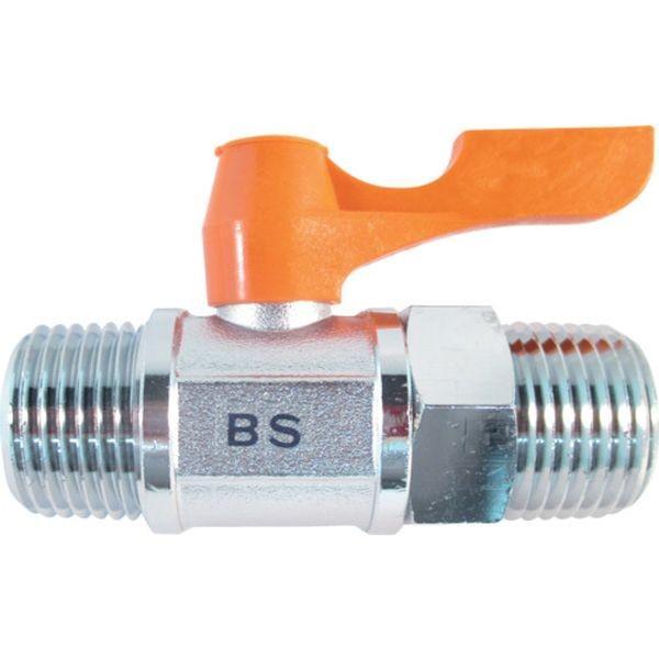 【メーカー在庫あり】 BS-9044 アソー(株) ASOH エースボール 外X外ネジ型 PT1/2 HD
