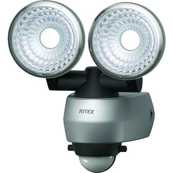 【メーカー在庫あり】 LED-AC315 LEDAC315  (株)ムサシ ライテックス 7.5W 2灯 LEDセンサーライト HD店
