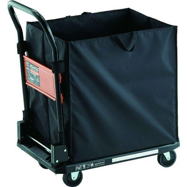 【メーカー在庫あり】 MPK720BK-CHBA TRUSCO 樹脂台車 カルティオ CHBAハンドトラックボックス付 ブラック HD店