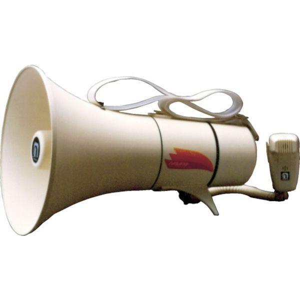【メーカー在庫あり】 TM-208 (株)ノボル電機製作所 ノボル ショルダータイプメガホン13Wホイッスル音付き(電池別売) HD