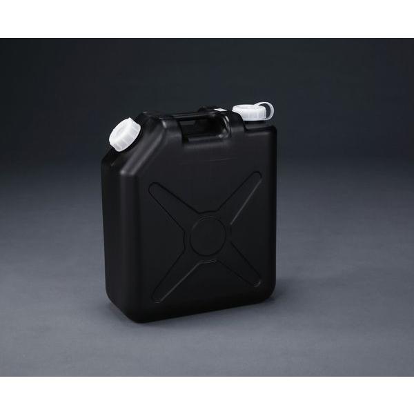 【メーカー在庫あり】 000012288693 20L ポリタンク(黒) (ポリエチレン製/ノス JP店