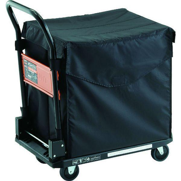 【メーカー在庫あり】 MPK720BK-CHB TRUSCO 樹脂台車 カルティオ CHBハンドトラックボックス付 ブラック JP店