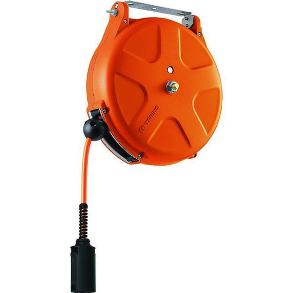 【メーカー在庫あり】 SHS-210A-OR TRIENS エアーホースリール 内径6.5mmX10m オレンジ JP店