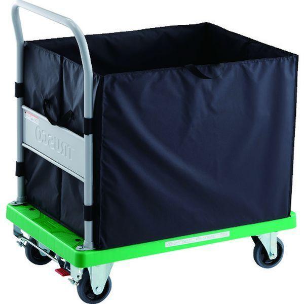 【メーカー在庫あり】 TP902S-CHBA TRUSCO 樹脂台車 グランカート CHBAハンドトラックボックス付 S付 900X605 JP店
