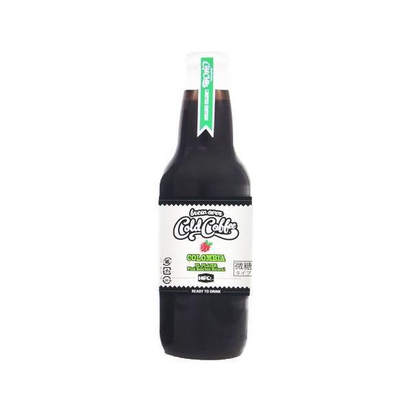 7/30-31はPoint10倍!アイスコーヒー 瓶入り 単品 コールドコーヒー クラフトコールドコーヒー コロンビア 360ml 微糖