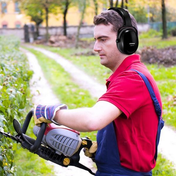 防音 イヤーマフ 聴覚過敏 遮音値36dB 折り畳み型 装着感良好 聴覚保護 耳覆い 射撃 騒音対策 大人子供兼用 ANSI S3.19/CE EN521認証済み 佐川急便|hirofukushop|16