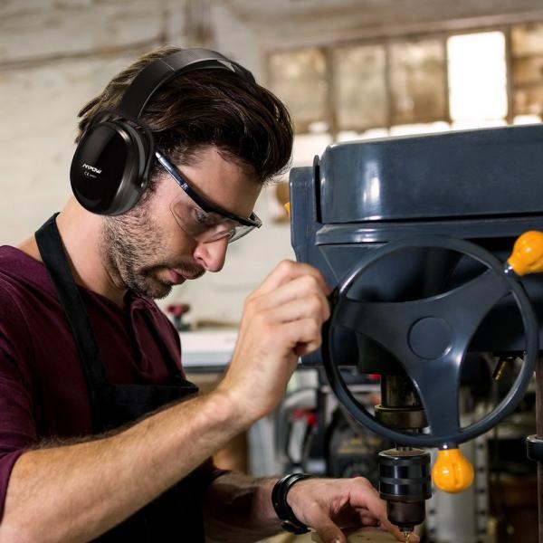 防音 イヤーマフ 聴覚過敏 遮音値36dB 折り畳み型 装着感良好 聴覚保護 耳覆い 射撃 騒音対策 大人子供兼用 ANSI S3.19/CE EN521認証済み 佐川急便|hirofukushop|17