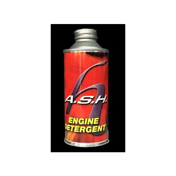 ASH(アッシュ) ENGINE DETERGENT 燃焼系クリーナー ガソリン添加剤 カーボン除去|hirohataautoparts
