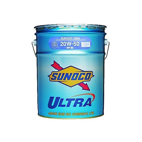 SUNOCO ULTRA/スノコ ウルトラ 10w40 20Lペール缶 ガソリン・ディーゼル兼用 鉱物油 SN/CF4|hirohataautoparts