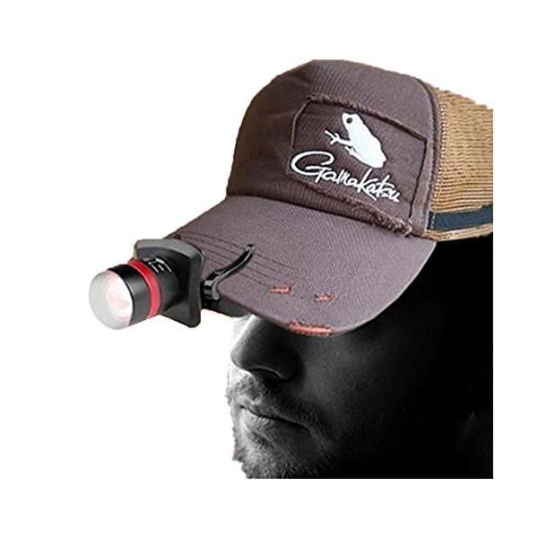 クリップ式 キャップライト ヘッドライト LEDライト 夜釣り アウトドア キャンプ 帽子 _