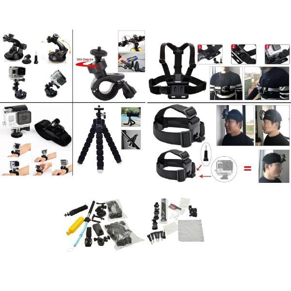 GOPRO アクセサリーセット for GOPRO HERO用 アクションカメラ 撮影用パーツ __