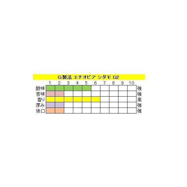 モカ【エチオピア シダモ G2】(400g)送料無料消費税込み|hiruandoncoffee|02
