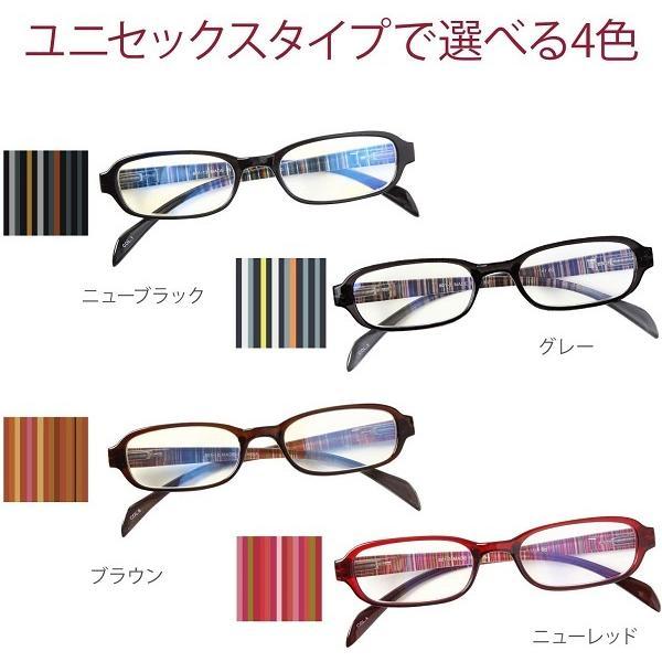 老眼鏡 メンズ レディース ブルーライトカット 約35% PrePiar BL Cutter 801 シニアグラス 男性用 女性用|hisui-kobo|04