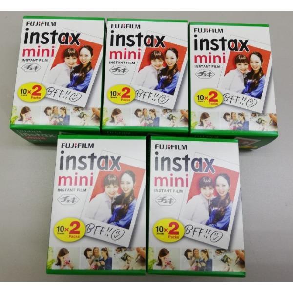 2P×5個(100枚セット)【送料無料】FUJIFILM チェキ用フィルム 2P instax mini 2P JP チェキフィルム 2本パック instax mini K R2 2パック×5個