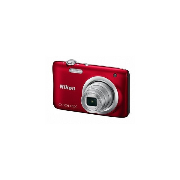 Nicon・ニコン 充電バッテリー COOLPIX A100 レッド[COOLPIX S2900の後継機]